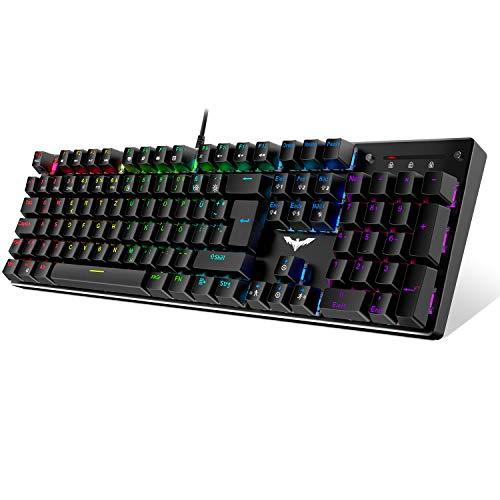havit Mechanische Gaming Tastatur, QWERTZ Tastatur...
