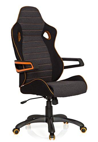 hjh OFFICE 621850 Gaming Stuhl RACER PRO IV Stoffbezug...