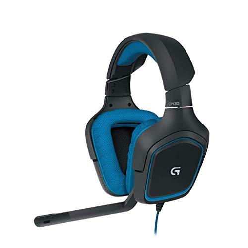 Logitech G430 Gaming-Headset, 7.1 Surround Sound, 40 mm...