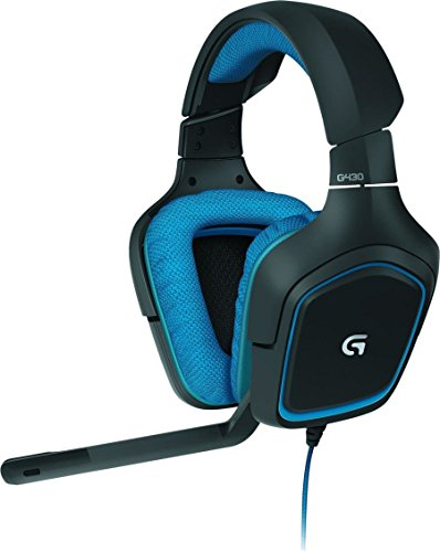 Logitech G430 Gaming Kopfhörer (Dolby 7.1 Surround...