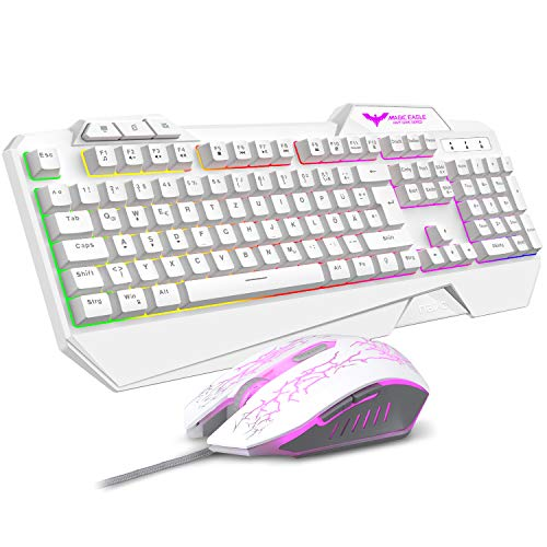 havit Gaming Tastatur und Maus Set, LED...