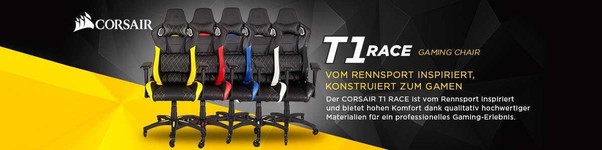 Corsair T1 Race Gaming Chair Übersicht