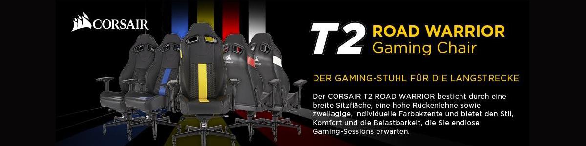 Corsair T2 Road Warrior Gaming Chair Übersicht