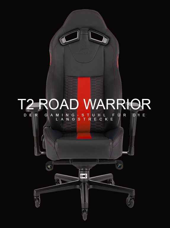 Corsair T2 Road Warrior Gaming Chair